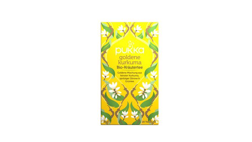 Pukka Bio Tee Goldene Kurkuma Online Bestellen Muller