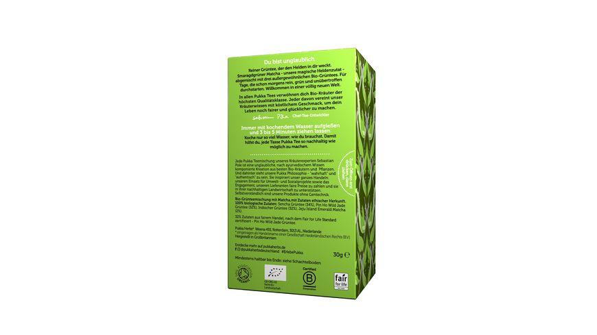 pukka Bio Gruentee Matcha Green