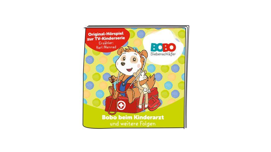 tonies Hoerfigur fuer die Toniebox Bobo Siebenschlaefer Bobo beim Kinderarzt und weitere Folgen