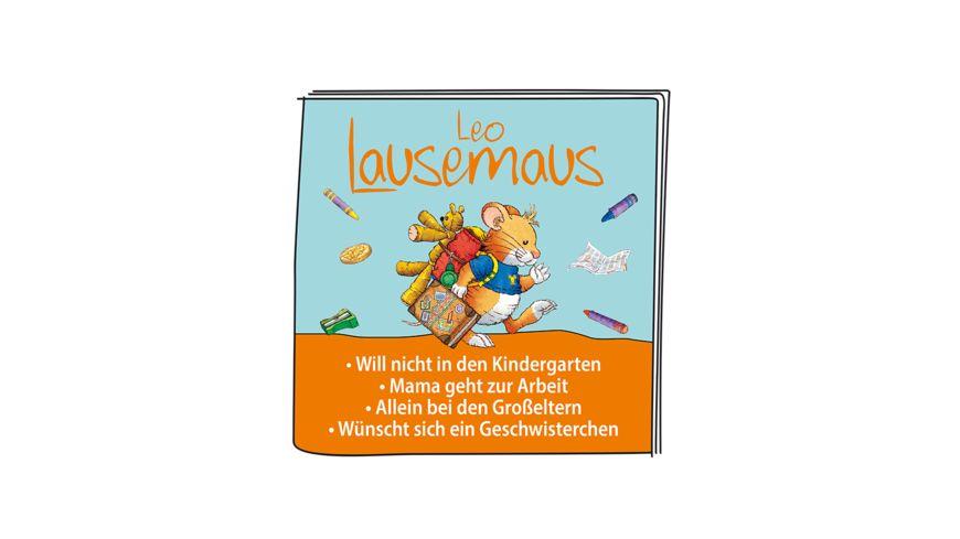 tonies Hoerfigur fuer die Toniebox Leo Lausemaus Das Original Hoerspiel zu den Buechern 2