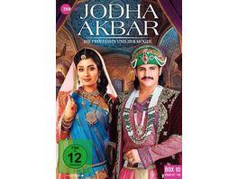 Jodha Akbar Die Prinzessin und der Mogul Box 10 Folge 127 140 3 DVDs