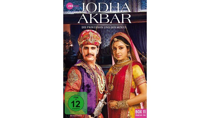 Jodha Akbar - Die Prinzessin und der Mogul - Box 11/Folge 141-154  [3 DVDs]