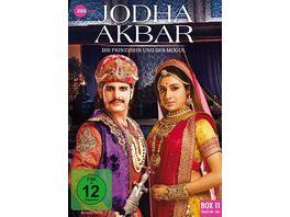 Jodha Akbar Die Prinzessin und der Mogul Box 11 Folge 141 154 3 DVDs
