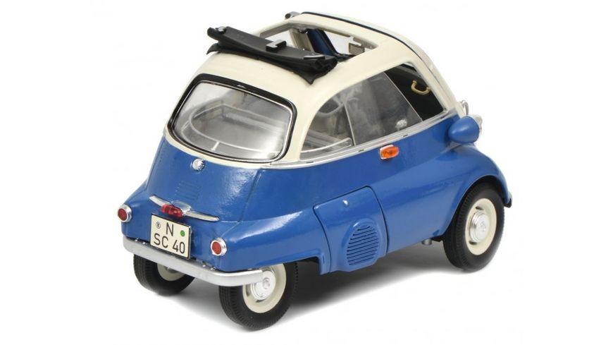 Schuco Edition 1 18 BMW Isetta Export blau grau 1 18