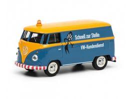 Schuco Edition 1 64 VW T1 Kastenwagen VW Kundendienst 1 64