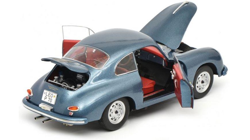 Schuco Edition 1 18 Porsche 356 A blau metallic 1 18