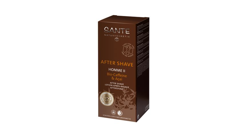 SANTE HOMME II After Shave Bio Caffeine Acai