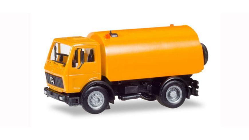 Herpa 309554 Mercedes Benz S Schoerling Kehrfahrzeug kommunal
