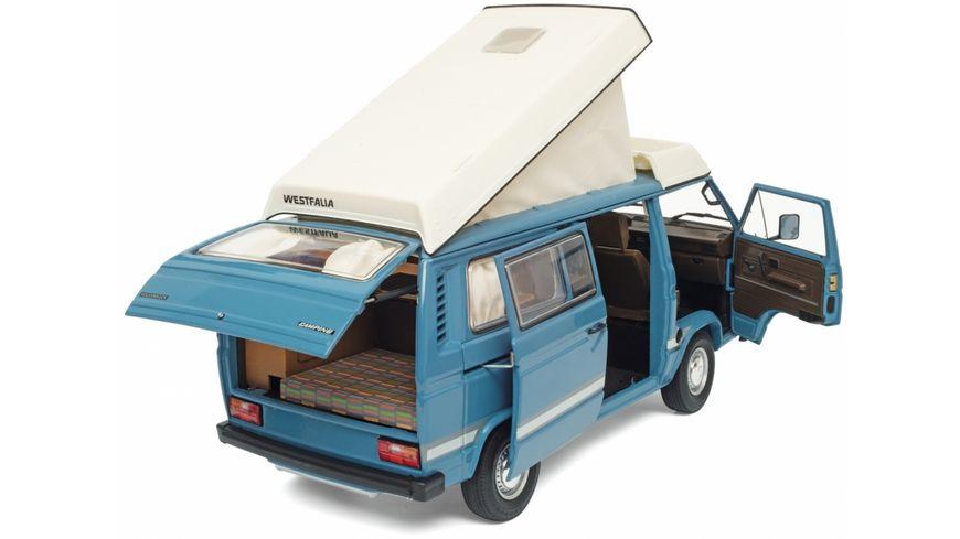 Schuco Edition 1 18 VW T3a Westfalia Joker mit Faltdach blau
