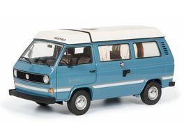 Schuco Edition 1 64 VW T3a Westfalia Joker mit Faltdach blau 1 18
