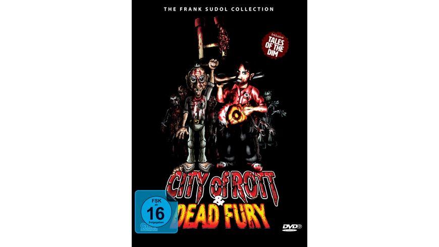 City Of Rott Dead Fury DVD Double Feature Pop Up Mediabook