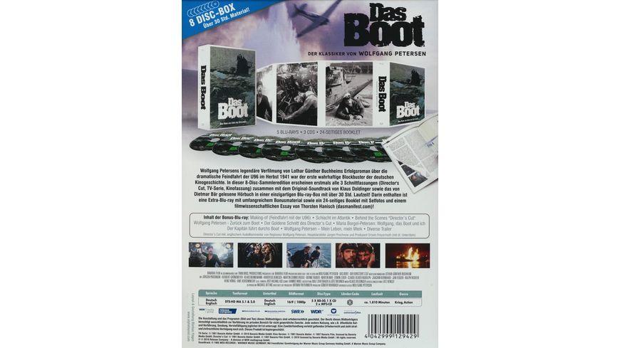Das Boot Complete Edition Bonus BR CD Soundtrack 2 Hoerbuecher 4 BRs