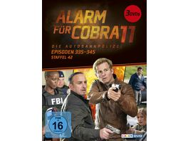Alarm fuer Cobra 11 Staffel 42 3 DVDs