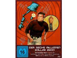 Der Sechs Millionen Dollar Mann Die komplette Serie Blu Ray 12 BRs