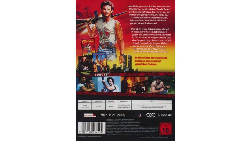 Snake Eater 1 3 Uncut 3 DVDs