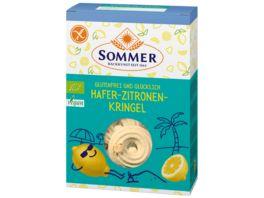 SOMMER Hafer Zitrone Kringel glutenfrei