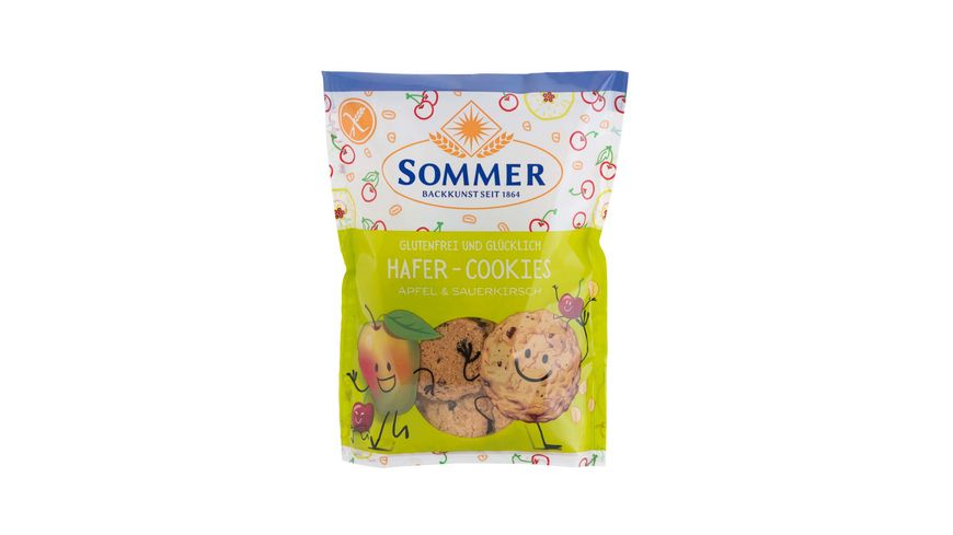 SOMMER Cookie glutenfrei Hafer