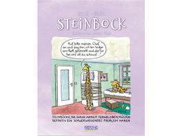 Steinbock 2022 Sternzeichenkalender Cartoonkalender als Wandkalender