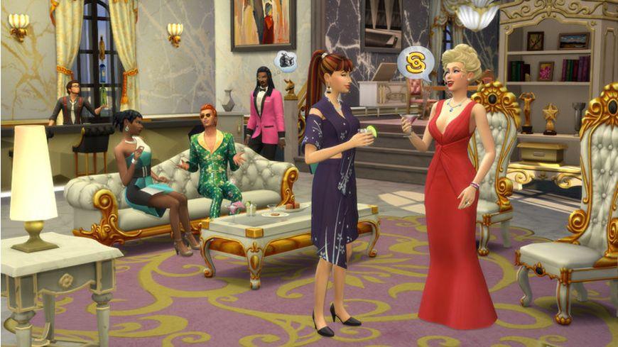 Die Sims 4 werden beruehmt