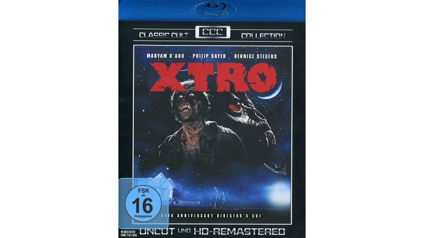 X TRO Uncut und HD Remastered Classic Cult Collection