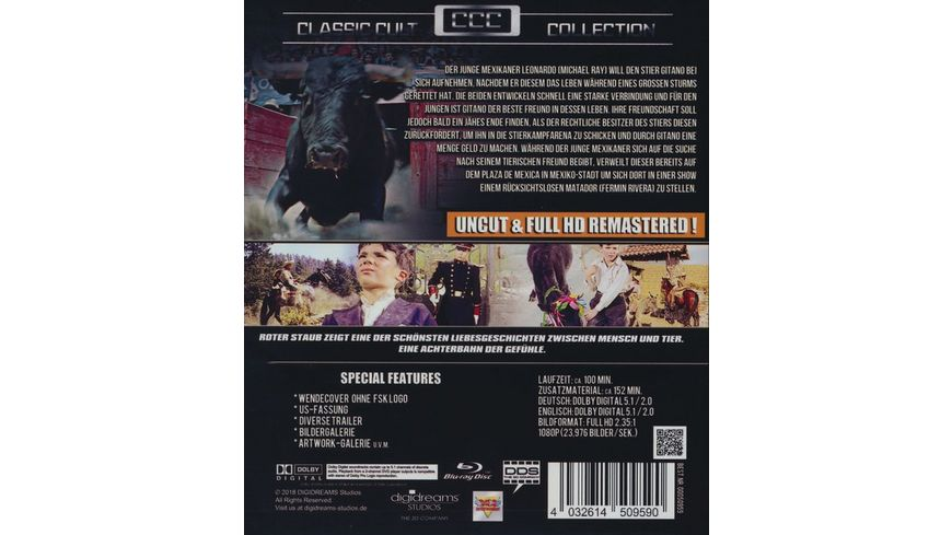 Roter Staub Uncut und HD Remastered Classic Cult Collection