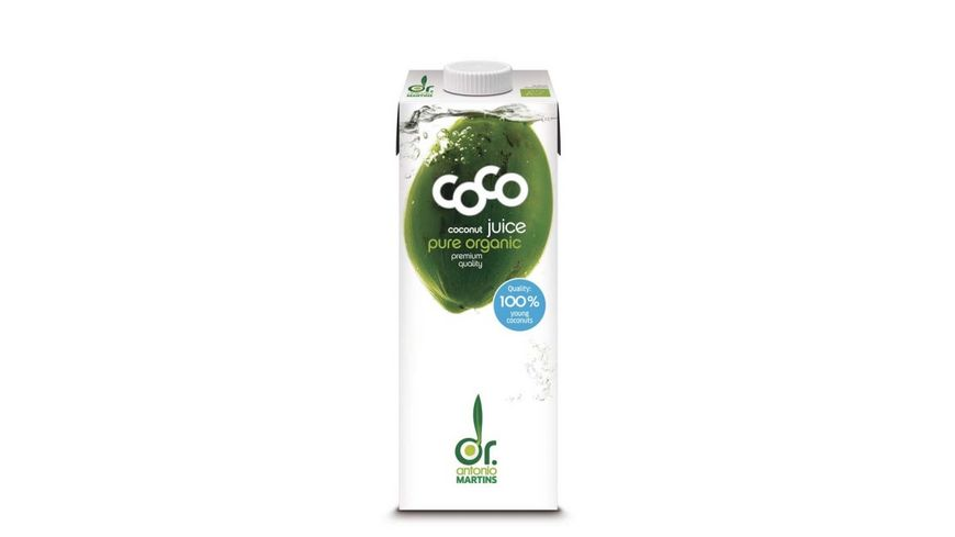Dr Antonio Martins Coco Juice Pure Coconut