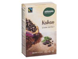 Naturata Kakao stark entoelt 10 12 Kakaobutter