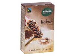 Naturata Kakao schwach entoelt 20 22 Kakaobutter