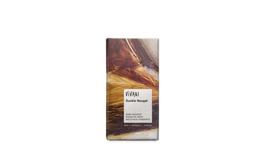 Vivani Bio Dunkle Nougat Schokolade
