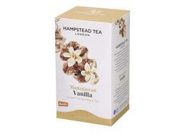 Hampstead Tea Vanilla Tea Schwarztee aromatisiert demeter