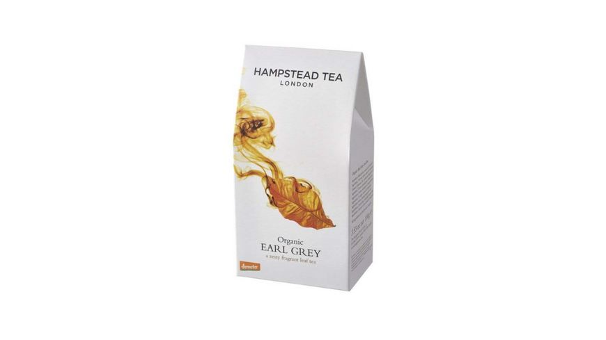 Hampstead Tea Earl Grey Schwarztee demeter lose