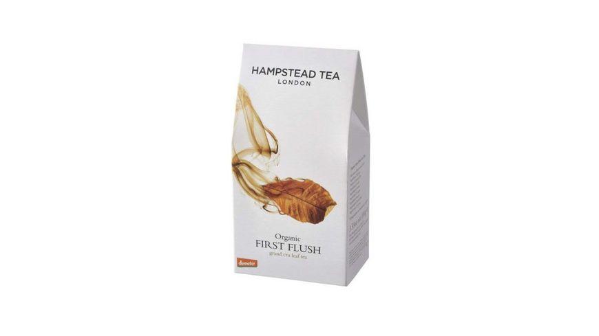Hampstead Tea First Flush Schwarztee demeter lose