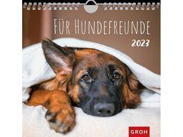 Fuer Hundefreunde 2022 Wandkalender