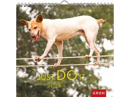 Just do it 2019 Wandkalender