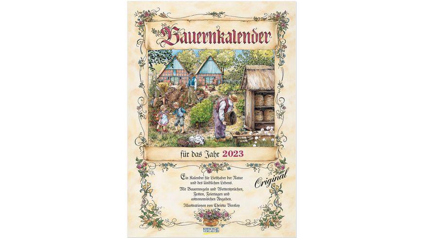 Bauernkalender 2022 - Wandkalender