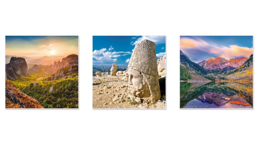 Wunder der Welt 2019 Broschuerenkalender mit Ferienterminen