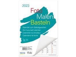 Foto Malen Basteln A4 Bastelkalender