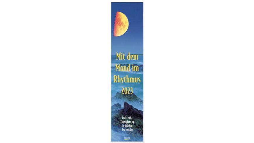 Mond-Langplaner 2022 - Wandkalender