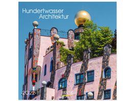 Hundertwasser Architecture 2019 Broschuerenkalender