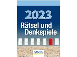 Raetsel und Denkspiele 2019 Tages Abreisskalender