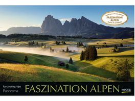 Faszination Alpen 2019 Wandkalender