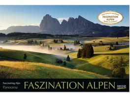 Faszination Alpen 2022 Wandkalender