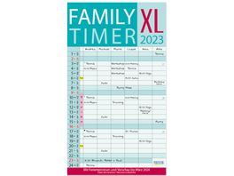XL Family Timer 2022