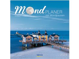 Der grosse Mondplaner 2019 Broschuerenkalender
