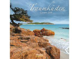 Traumkuesten 2019 Broschuerenkalender