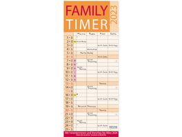 Family Timer Lifestyle 2022 Familienplaner