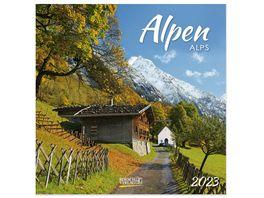 Alpen 2019 Broschuerenkalender