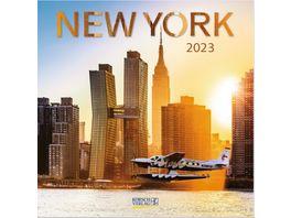 New York 2019 Broschuerenkalender