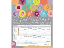 Multiplaner Colour your time 2019 Familienplaner