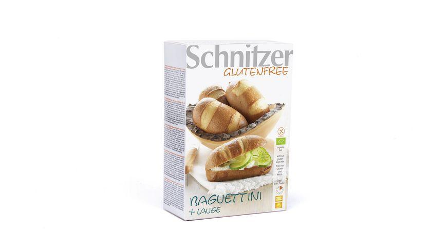 Schnitzer Bio Glutenfree Baguettinis Lauge